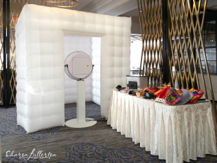 A Wired Up Entertainment photobooth in Wilmington, DE