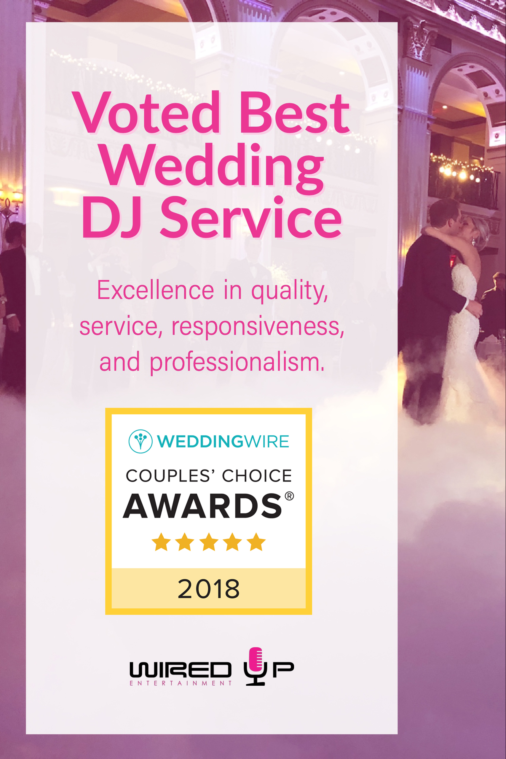 Voted Best Wedding DJ in Delaware