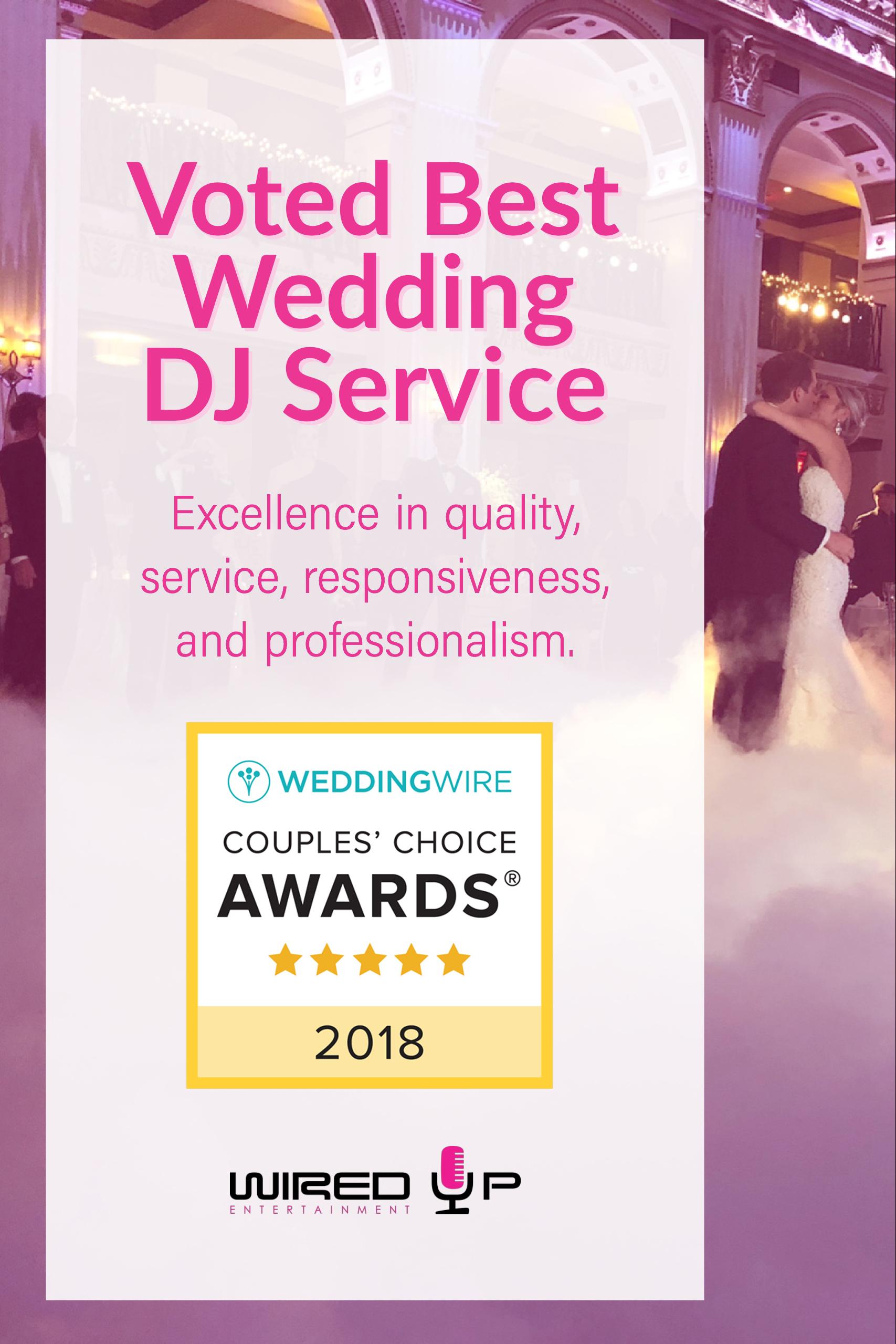 Voted Best Wedding DJ in Delaware